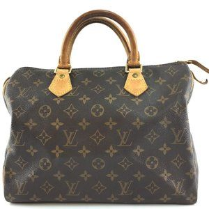 Louis Vuitton Speedy 30 Boston Doctor Hand Satchel